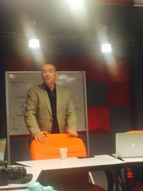 Mauricio Meschoulam charla en la Ibero sobre Siria y el Proyecto Habesha.